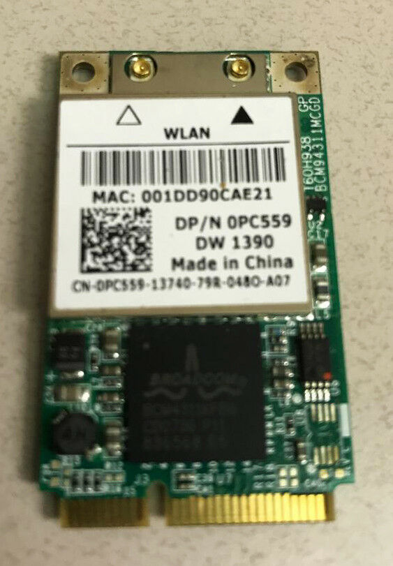 DELL 1390 WLAN DRIVER