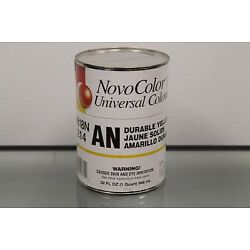 Universal Colorant and Tint AN Durable Yellow Novo Color II 32 oz Quart 8818N214