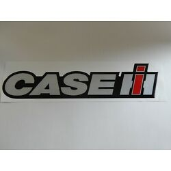 Case IH Raised Vinyl Decal Approx 19'' Long & 4'' Tall