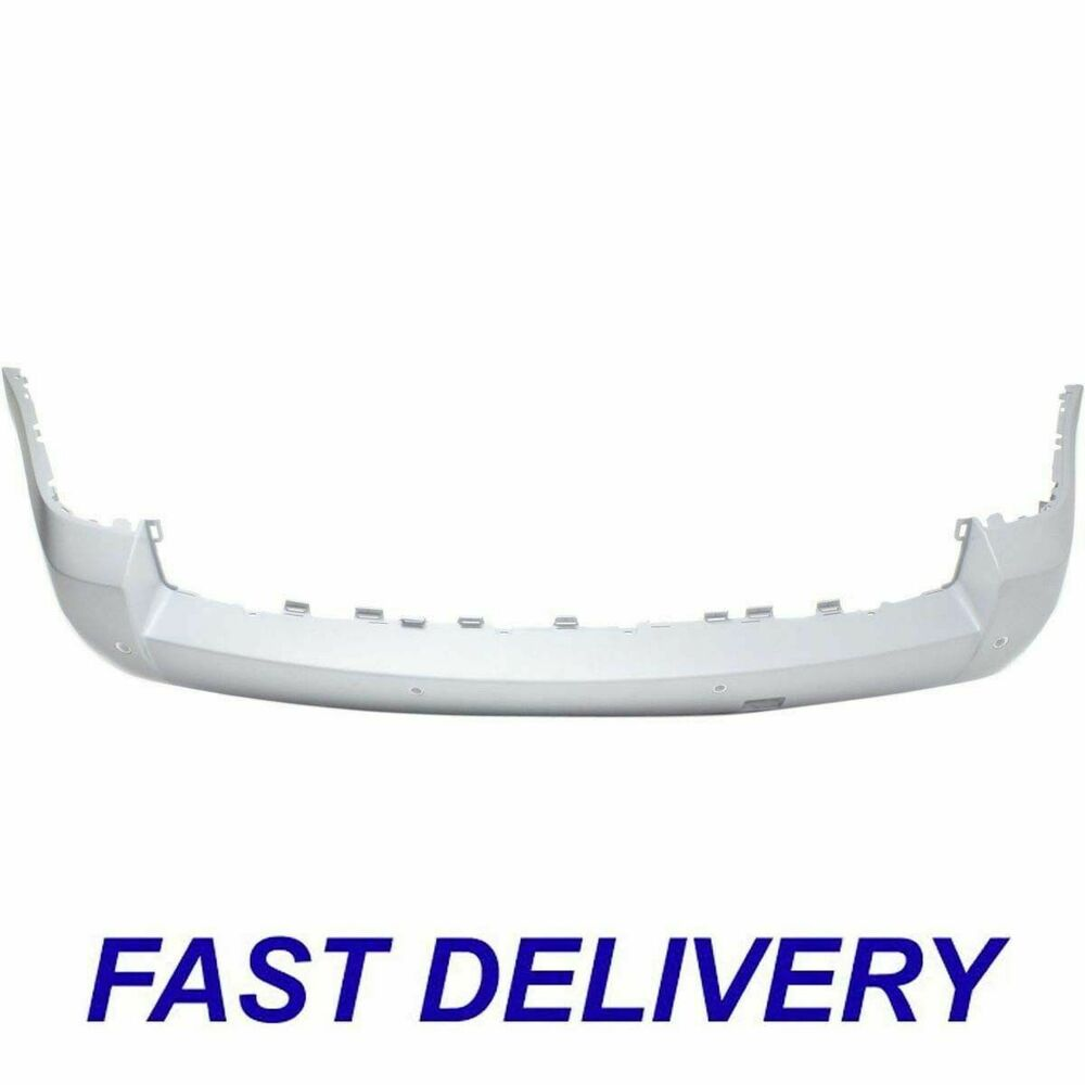 New Rear Bumper Cover With Park Distance Control Fits 2007