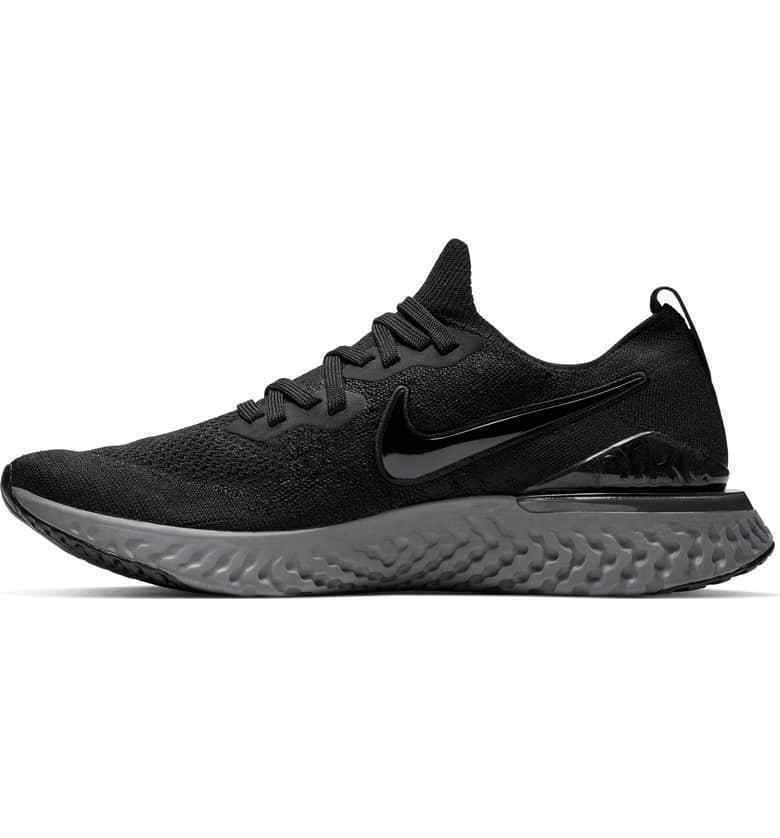 e3aafd31f Details about New Nike Men's Epic React Flyknit 2 Running Shoes (BQ8928-001)  Black/Black-Anthr