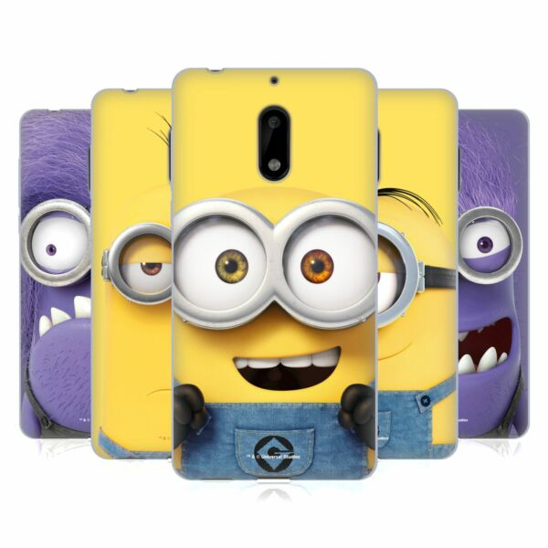 OFFICIAL DESPICABLE ME FULL FACE MINIONS SOFT GEL CASE FOR NOKIA PHONES 1