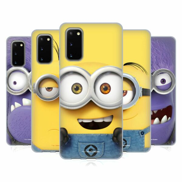 OFFICIAL DESPICABLE ME FULL FACE MINIONS SOFT GEL CASE FOR SAMSUNG PHONES 1