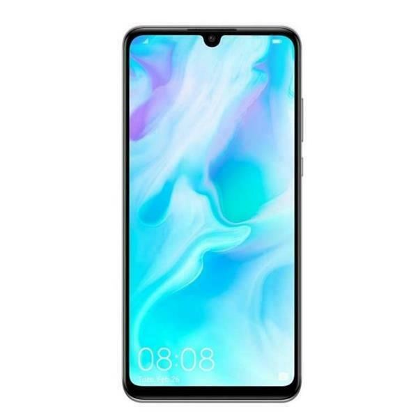 HUAWEI P30 LITE DUAL SIM 4GB RAM 128GB - PEARL WHITE Display 6.15