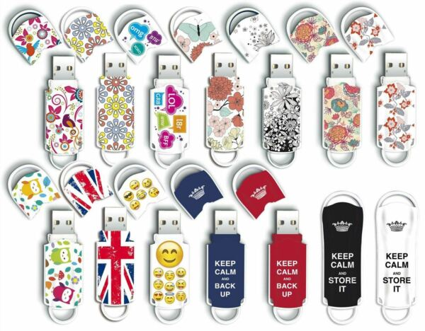 Expression Art Designs USB Memory Stick / Flash Pen Drive / 8GB 16GB 32GB 64GB