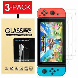 Kyпить For Nintendo Switch Premium Tempered Glass Screen Protector (3-Pack) на еВаy.соm