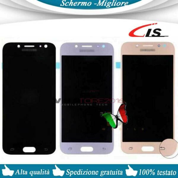 Originale Display OLED + Touch Screen Samsung Galaxy J5 2017 J530 Schermo Vetro