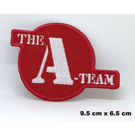 img-THE A TEAM Logo Movie Iron/ Sew-On Embroidered Patch / Badge