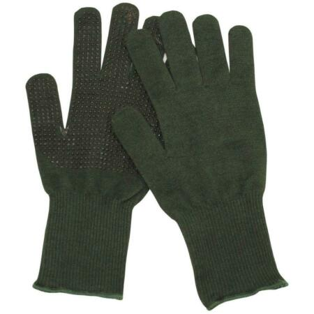 img-Genuine British Army Gloves Green Contact Combat (Aramid) all sizes Brand New