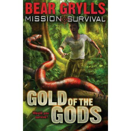 img-Mission Survival:Gold of the Gods by Bear Grylls, NEW Book, FREE & FAST Delivery