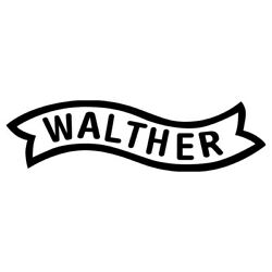 WALTHER gun vinyl decal sticker colors available