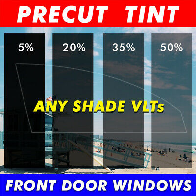 Precut Tint Front Two Door Windows Any Film Shade for All Toyota Tercel