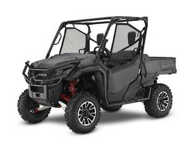 NEW 2018 HONDA PIONEER 1000 LE 3 SEAT POWER STEERING SXS1000 MATTE GRAY SALE!!