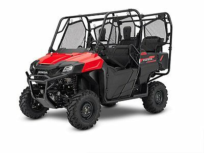 NEW 2019 HONDA PIONEER 700 4 SEAT SXS700 4X4 RED BLOWOUT SALE NO HIDDEN FEES!