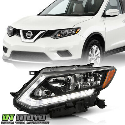 For 2014 2015 2016 Rogue Halogen Headlight Headlamps Replacement LH Driver Side