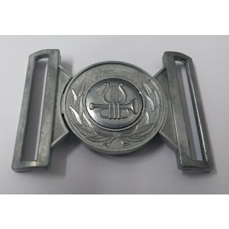 img-Military Issue Musicians Bandsman Insignia Belt Buckle No Plating Locket MFP29