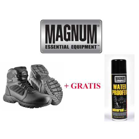 img-Magnum Hi-tec Leather Lynx 6.0 mid Boots Boots Army Boots Security Boots Hitec