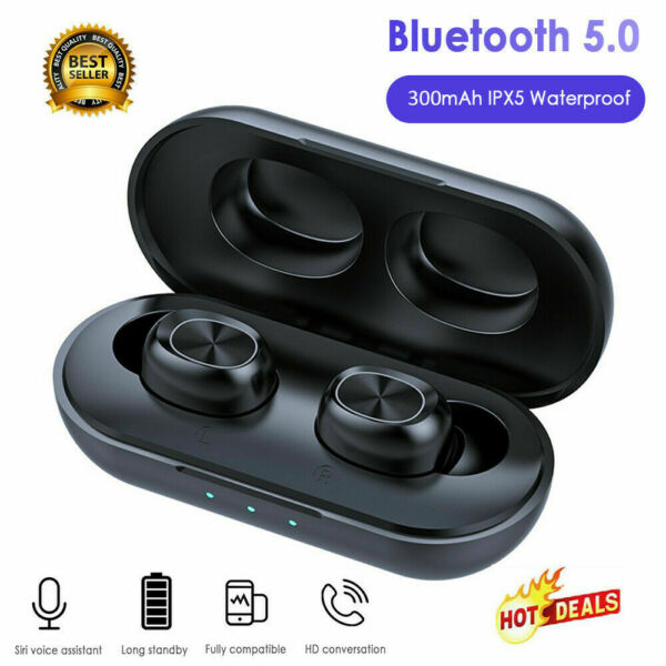 B5 Bluetooth5.0 TWS Stereo Cuffie True Wireless Waterproof Sportivo Auricolare