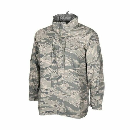 img-NEW GENUINE USAF US AIR FORCE ABU TIGER STRIPE APECS GORETEX PARKA JACKET. S-R.