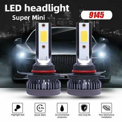 9145 9140 H10 MINI COB LED Headlight Bulb Kit Fog Light 110W 22000LM 6000K Lamp