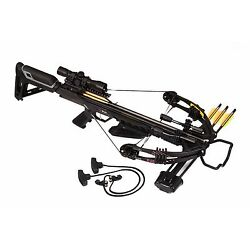 Kyпить Bruin Ambush 345 Crossbow Package w/ Scope, Bolts, Quiver and Cocking Rope на еВаy.соm