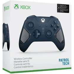 Kyпить Microsoft Xbox One Wireless Controller Patrol Tech Special Edition Blue - In Box на еВаy.соm