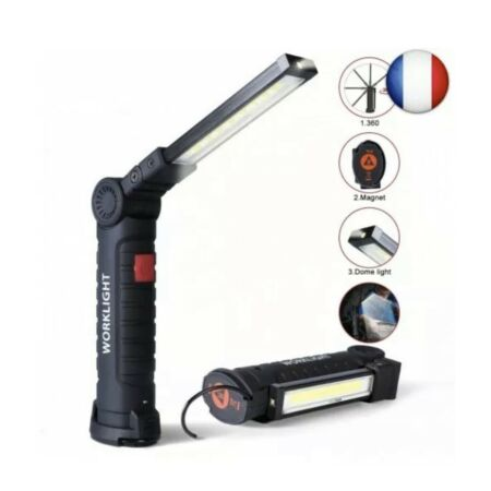 img-Lampe Torche LED 5 Modes Baladeuse 800LM Inspection Réparation Rechargeable