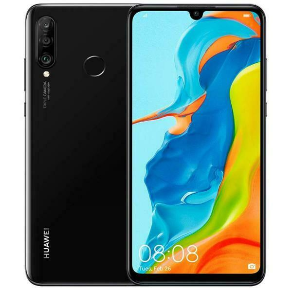 HUAWEI P30 LITE 2020 NEW EDITION MIDNIGHT BLACK 256 GB ROM Display 6.15
