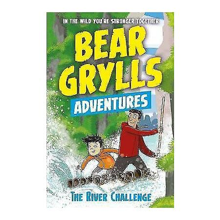 img-A Bear Grylls Adventure 5: The River Challenge by Grylls, Bear, NEW Book, FREE &