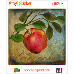 Pomme Apple From the Grove French Vinyl Sticker Vintage Style Laptop Decal