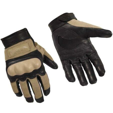 img-Wiley X Cag-1 Gloves Combat Assault Gloves Work Garden Reinforced Tan XXL New