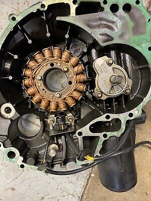 SEADOO 4 TEC STATOR GENERATOR COIL And Cover RXP RXT GTX GTI SUPERCHARGED