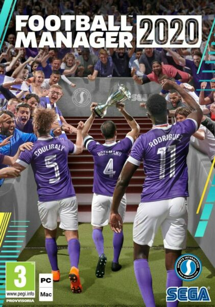 FOOTBALL MANAGER 2020 PC / MAC - ORIGINALE COMPLETO ITALIANO - STEAM