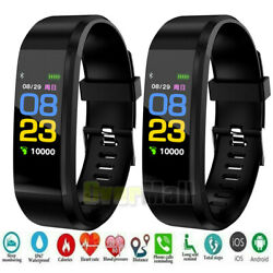 Kyпить Smart Watch Fit**bit Waterproof Heart Rate Fitness Step Caolorie Tracker Monitor на еВаy.соm
