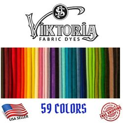 Kyпить Fabric Dye Viktoria All Purpose 59+ Fashion Colors DIY Tie Dye (0.35 Oz Powder) на еВаy.соm