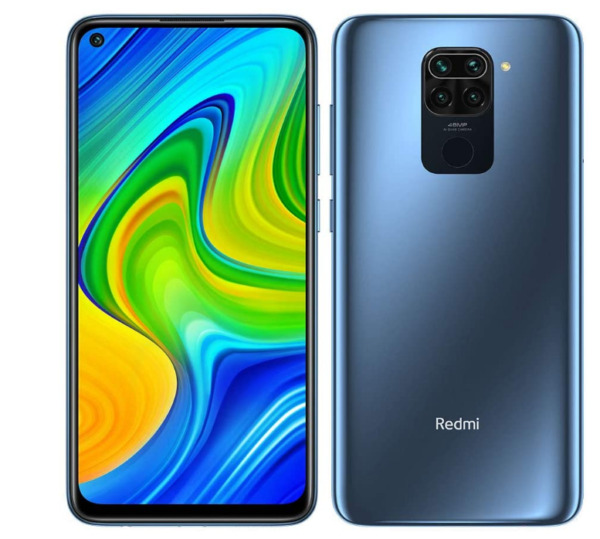 XIAOMI REDMI NOTE 9 MIDNIGHT GREY 128 GB 4 GB RAM DISPLAY FULL HD 6.53