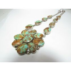 Kyпить LARGE SOUTHWESTERN NECKLACE WITH 17 OVAL LARGE TURQUOISE на еВаy.соm