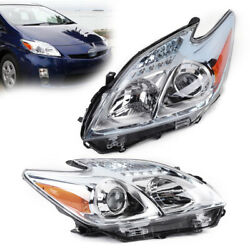 Kyпить Left & Right - Driver Side Halogen Headlight Assembly For 12-15 Toyota Prius new на еВаy.соm