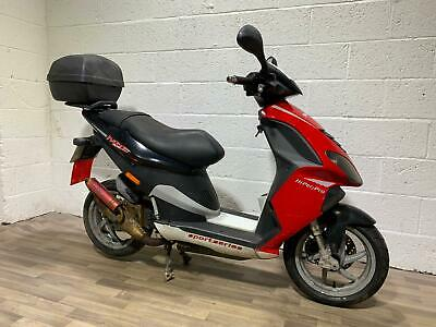 PIAGGIO NRG 50 2006 HPI CLEAR NEW SPORTS EXHAUST ONLY 12K GOOD CONDITION