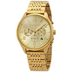Kyпить Michael Kors Men's Merrick Chronograph Gold-tone Stainless Steel Watch MK8638 на еВаy.соm