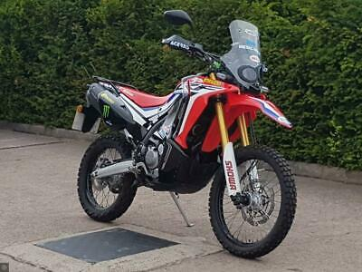 HONDA CRF250 RALLY 2017 67 IMMACULATE CONDITION LOW MILEAGE