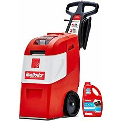 NEW Rug Doctor Mighty Pro X3 Commercial Carpet Cleaner, Red Pro Pack