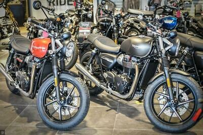 TRIUMPH STREET TWIN 2020 20 UNREGISTERED