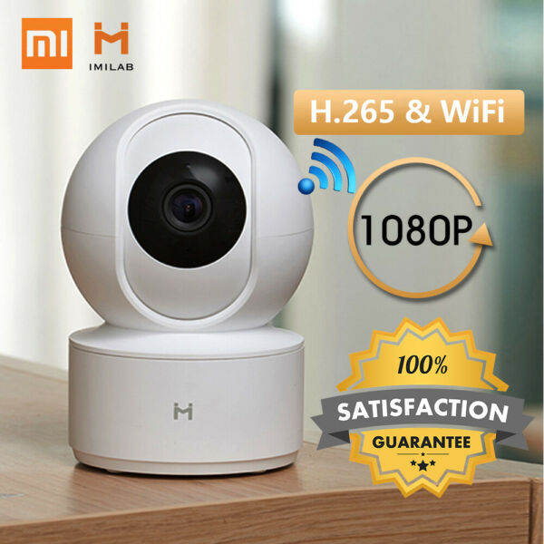 TELECAMERA IP CAM CAMERA HD 1080P WIRELESS IR MOTORIZZATA INTERNET XIAOMI H9H8