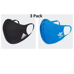 Kyпить adidas Adult Face Cover Facemask One Size Fits All - 3 Pack (Medium/Large) на еВаy.соm