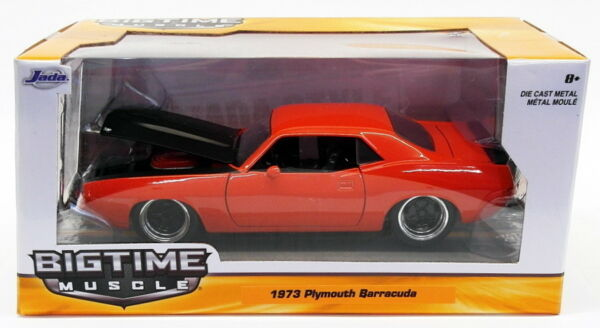 Royaume-UniJada Toys 1/24 Scale Model Car 98236 - 1973 Plymouth  - Red