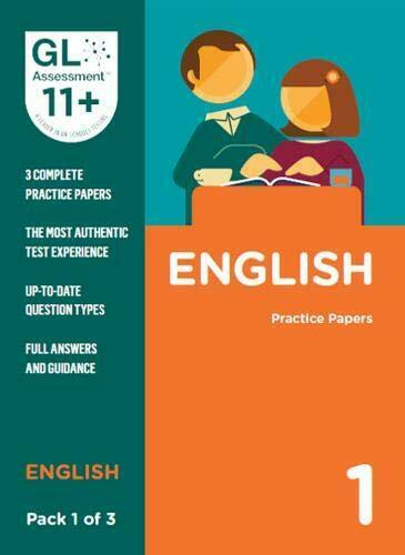 Royaume-UniRévisé Pour 2019 - Gl Assessment 11 + Practice Papers English Pack 1 (