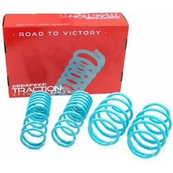 GODSPEED TRACTION-S  PERFORMANCE LOWERING SPRINGS FOR IMPREZA 17-20