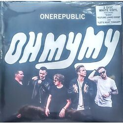 ONE REPUBLIC OH MY MY - 2 LP WHITE VINYL '' NEW, FACTORY SEALED ''