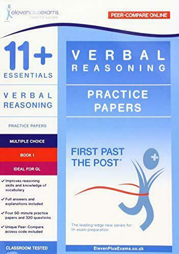 Royaume-Uni11 + Essentials Verbal Reasoning ( Choix Livre 1) Par Onze Plus Exams